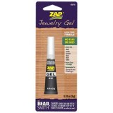 Zap Gel Jewelry Super Glue .10 OZ (3 GRAM) (PK1)