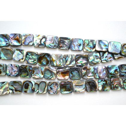 Abalone Shell 14mm Square
