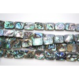 Abalone Shell 15x20mm Rectangle