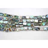 Abalone Shell 8x10mm Rectangle