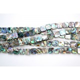 Abalone Shell 8mm Square