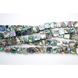 Abalone Shell 10mm Square