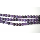 Amethyst 10mm Matt Round