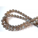 Grey Agate 12mm Round