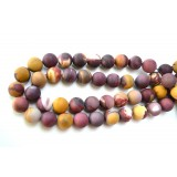 Mookaite 14mm Matt Round