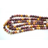Mookaite 8mm Matt Round