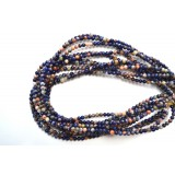 Orange Sodalite 4mm Round