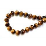 Tigers Eye 16mm Facet Round