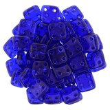 CzechMates Quadra Tile 6mm - Cobalt (10gm)