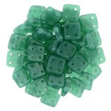 CzechMates Quadra Tile 6mm - Alantis Green (10gm)