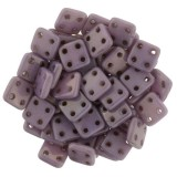 CzechMates Quadra Tile 6mm - Luster Opaque Lilac (10gm)
